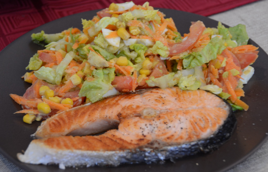 Salmon & Salad