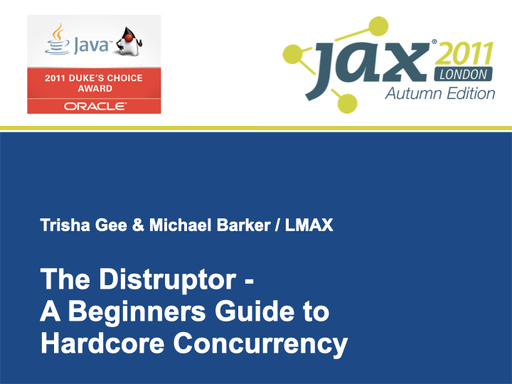 Slide: Beginner's Guide to Concurrency