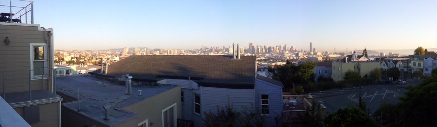 Panoramic View of San Francisco